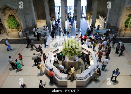The Great Hall at the Metropolitan Museum of Art in New York City. May 4, 2010. - Stock Photo