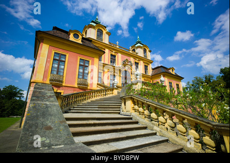 Schloss Favorite, Baroque pleasure palace and hunting lodge, Favorite Park, Ludwigsburg, Baden-Wuerttemberg, Germany, - Stock Photo