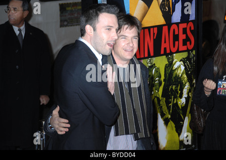 Ben Affleck and Jason Bateman World Premiere of 'Smokin' Aces' held at the Grauman's Chinese Theatre Hollywood, - Stock Photo