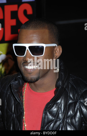 Kanye West World Premiere of 'Smokin' Aces' held at the Grauman's Chinese Theatre Hollywood, California - 18.01.07 - Stock Photo