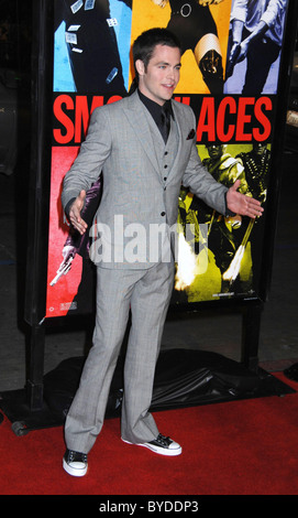 Chris Pine World Premiere of 'Smokin' Aces' held at the Grauman's Chinese Theatre Hollywood, California - 18.01.07 - Stock Photo
