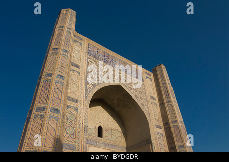 Bibi Khanym Mosque, Samarkand, Uzbekistan, Central Asia - Stock Photo