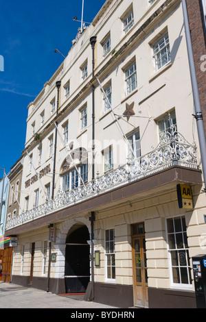 The Star Hotel, High Street, Southampton, Hampshire, England, United Kingdom, Europe - Stock Photo