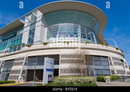 WestQuay Shopping Mall, city centre, Southampton, Hampshire, England, United Kingdom, Europe - Stock Photo