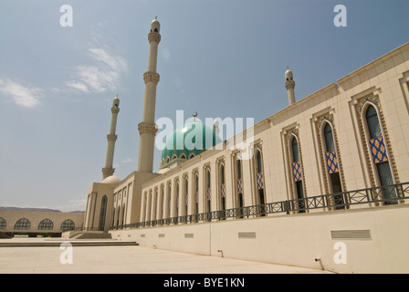 Saparmurat Haji Mosque, Turkmenistan, Central Asia - Stock Photo