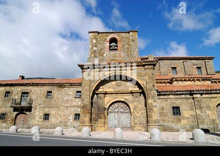 Colegiata de Arbas church, Arbas del Puerto, Villamanin, Castilla Leon province, Spain, Europe - Stock Photo