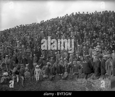 Crowd at the Toll Selkirk Common Riding 1929 - Stock Photo