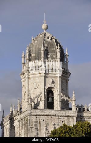 The Monastry , Moistero Dos Jeronimos , Lisbon , Portugal - Stock Photo