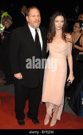 Harvey Weinstein and Georgina Chapman The Orange British Academy Film Awards (BAFTAs) after-party held at Grosvenor - Stock Photo