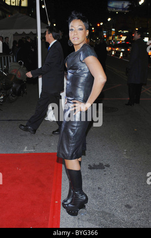 Tichina Arnolds Arrivals Los Angeles World Premiere of Wild Hogs held at El Capitan Theatre Hollywood, USA 02.27.07 - Stock Photo