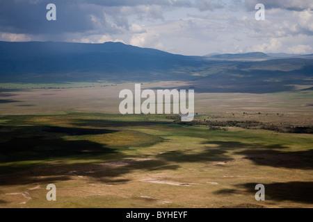 Great Rift Valley landscape, Tanzania, Africa - Stock Photo