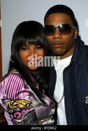 Ashanti and Nelly TAO Beach Party celebrating the 'De La Hoya/Mayweather Fight', at the Venetian Hotel Casino Las - Stock Photo