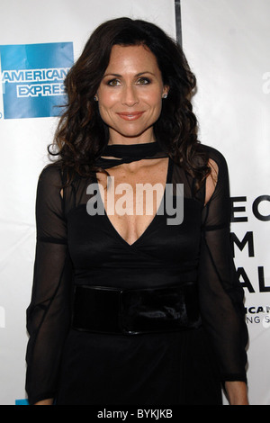 Minnie Driver  at the NY Premiere of 'Take' 2007 Tribeca Film Festival held at Clearview Chelsea West Theaters New - Stock Photo