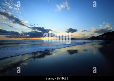 Beach at Twilight - Stock Photo