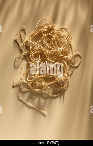Tangled Ball of String - Stock Photo
