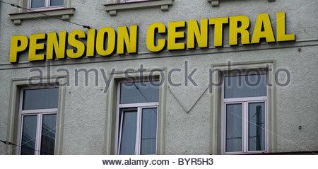 Pension hotel - Stock Photo