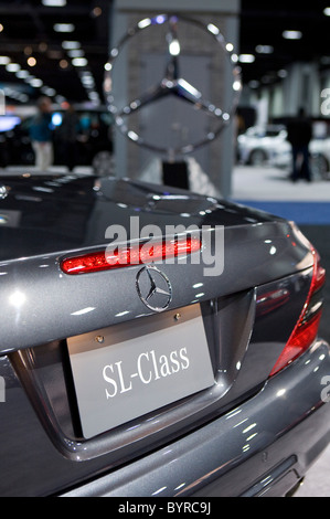 Mercedes-Benz the Washington Auto Show.  - Stock Photo
