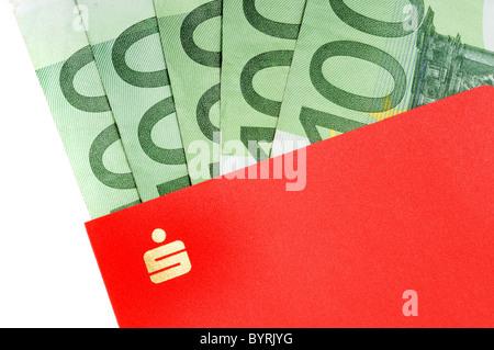 German Bankbook And Euro As Symbol For Savings Stock Photo 32712048