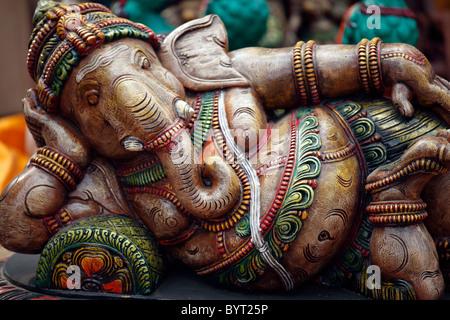 Lord Ganesha,God,Elephant god,Indian God Idols,Hinduism,Hindu god,Traditionally Indian,Indian Culture,Indian Ethnicity,India - Stock Photo