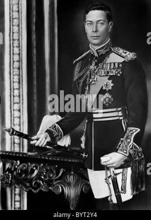 King George VI - Stock Photo