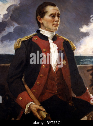 Captain John Paul Jones - Stock Photo