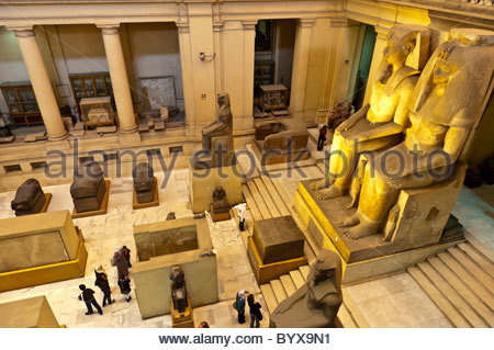 egypt cairo the egyptian museum interior museum of antiquities and