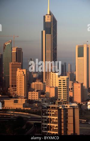 Kuwait, Kuwait City, skyline, general view, - Stock Photo