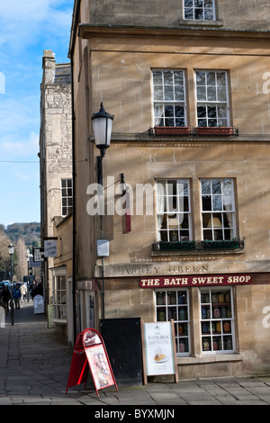 Street Scene - City of Bath, England - Stock Photo