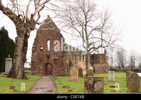 Remains of Beauly Priory - Stock Photo