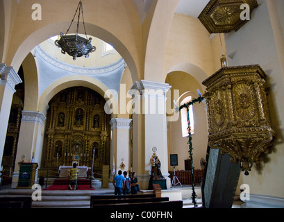 Honduras. Comayagua. The Cathedral. - Stock Photo