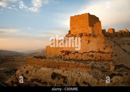 Karak castle, Karak, Jordan. - Stock Photo