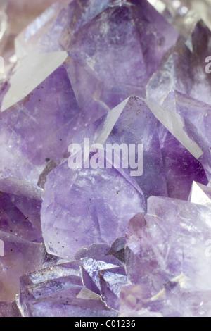 Amethyst Crystals - Stock Photo