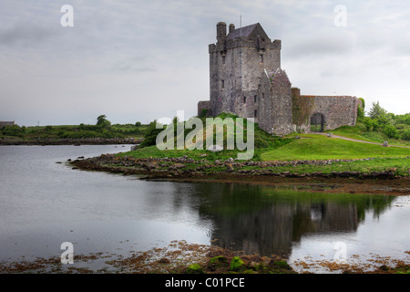 Dunguaire Castle, Kinvarra, County Galway, Republic of Ireland, Europe - Stock Photo