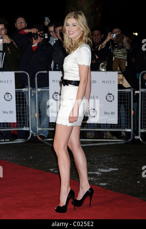 Rosamund Pike arrives for the Critic's Circle Awards at the BFI, Southbank, London, 10th February 2011. - Stock Photo