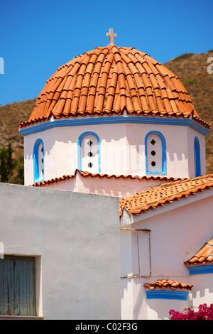 Nunnery of Ayia Aikaterini, Aegina, Greek Saronic Islands - Stock Photo