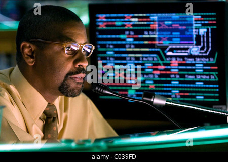 DENZEL WASHINGTON THE TAKING OF PELHAM 1 2 3; THE TAKING OF PELHAM 123 (2009) - Stock Photo