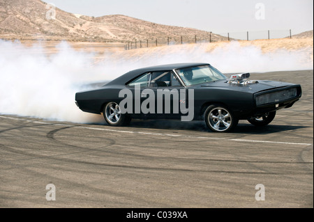 1970 DODGE CHARGER FAST & FURIOUS; THE FAST AND THE FURIOUS 4 (2009) - Stock Photo