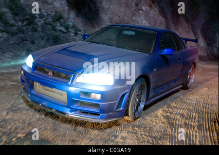 1998 NISSAN SKYLINE ER34 FAST & FURIOUS; THE FAST AND THE FURIOUS 4 (2009) - Stock Photo