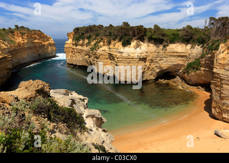Loch Ard Gorge, Port Campbell National Park, Victoria, Australia - Stock Photo