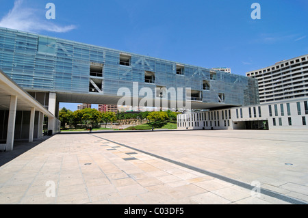 Town Hall, Benidorm, Costa Blanca, Alicante, Spain, Europe - Stock Photo