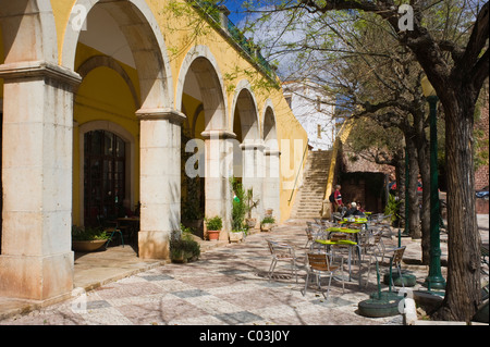 Town Hall Square, Praca da Camera Municipal, Silves, Algarve, Portugal, Europe - Stock Photo