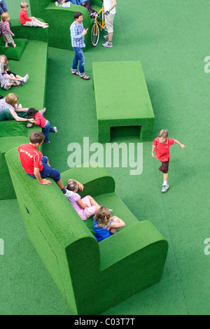 Watch this Space, National theatre, London - Stock Photo