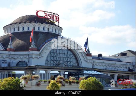 The Casino at Evian-les-Bains, France - Stock Photo