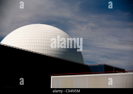 Sizewell Nuclear power station Suffolk - Stock Photo