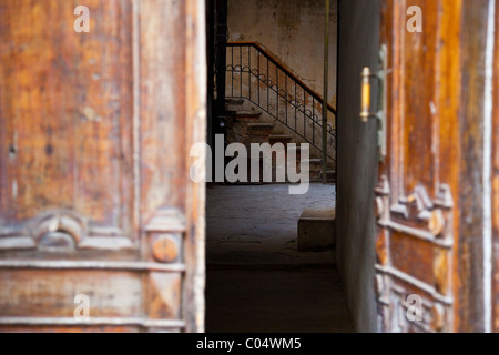 Doorway in the Old Town of Baku, Azerbaijan - Stock Photo