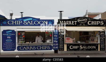 Fish and chip shop, Great Yarmouth Stock Photo, Royalty ...