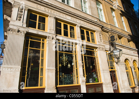 London Westminster famous old St Stephens Tavern or inn or pub opposite Big Ben St Stephens Tower - Stock Photo