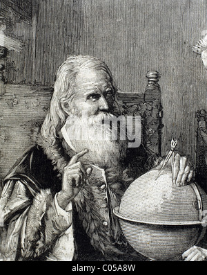 A history of galileo an italian physicist and astronomer