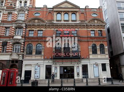 Royal Court Theatre, Sloane Square, London - Stock Photo