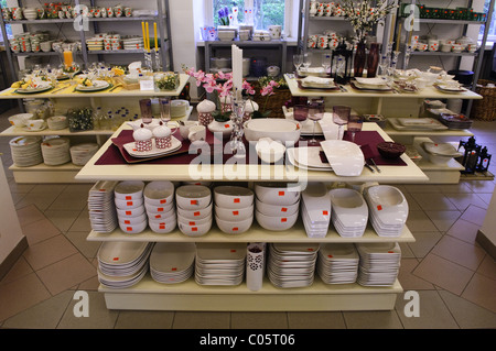 villeroy boch china shop factory outlet wadgasen germany stock photo 34638530 alamy. Black Bedroom Furniture Sets. Home Design Ideas